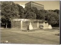 Framed Tokyo Fountain