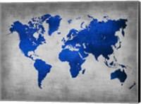Framed World  Map 10