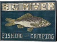 Framed Lodge Sign I