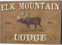 Framed Lodge Sign III