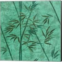 Framed Bamboo Green