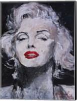 Framed M Monroe Photo 17