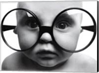 Framed Baby Face