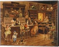 Framed Turn of the Century Drug Store