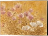 Framed Irises III