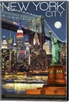 Framed New York City 1