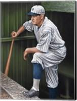 Framed Babe RuthTop Step