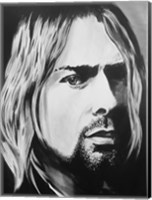 Framed Kurt Cobain