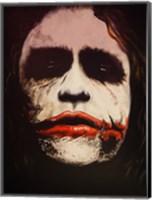 Framed Joker Why So Serious?