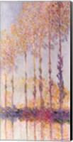 Framed Poplars on the Banks of the Epte, 1891