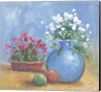 Framed Floral K