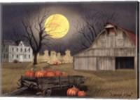 Framed Harvest Moon