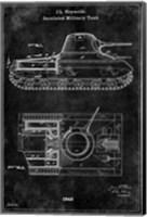 Framed Tank1 Black