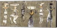 Framed African Dance
