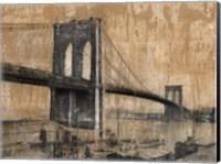 Framed Brooklyn Bridge 2