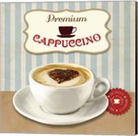 Framed Premium Cappuccino