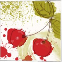 Framed Modern Cherry