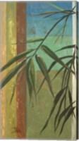 Framed Bamboo & Stripes II