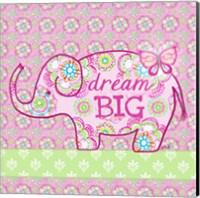 Framed Elephant II