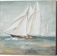 Framed Cape Cod Sailboat I