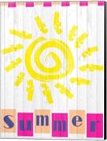 Framed Summer Sun