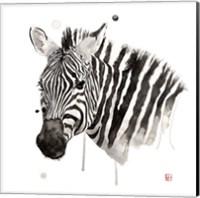 Framed Zebra II