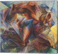Framed Dynamism Of A Soccer Player, 1913