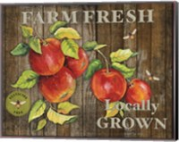 Framed Farm Fresh III