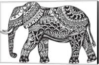 Framed Elephant Side