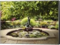Framed Burnett Fountain