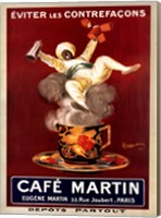 Framed Cafe Martin