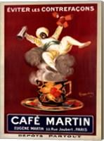 Framed Cafe Martin