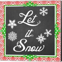 Framed Let it Snow II