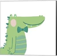Framed Alvin the Alligator