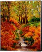 Framed Pheasant Road