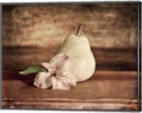Framed Kitchen Pear 2