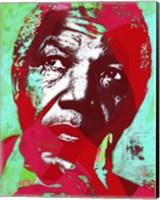 Framed Nelsson Mandela