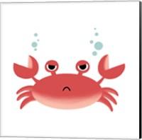 Framed Sea Creatures - Crab