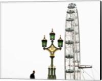 Framed London Eye III