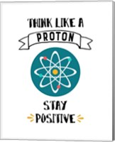 Framed Think Like A Proton White