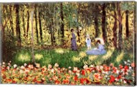 Framed Family in Garden, Argenteuil