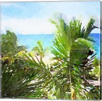 Framed Watercolor Vero Beach