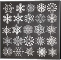 Framed Christmas Chalk 2