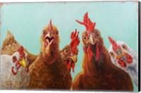 Framed Chicken for Dinner