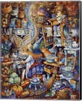 Framed Kitchen Witch 2