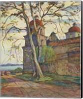 Framed European Sketchbook VII