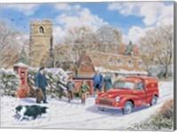 Framed Christmas Post