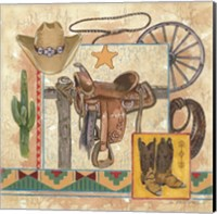 Framed Western IV