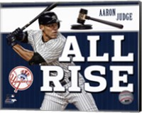 """Framed Aaron Judge """"""""All Rise"""""""""""