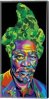 Framed Morgan Freeman